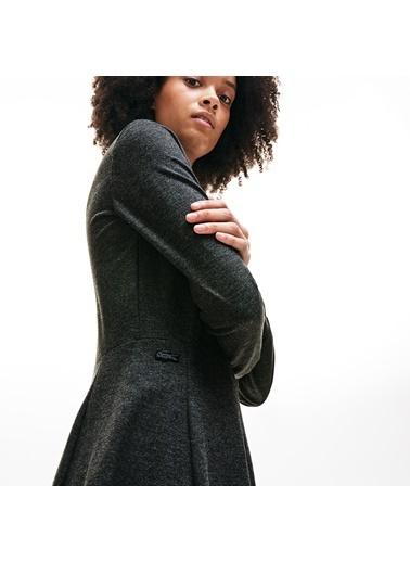 Lacoste Kadın Fermuarlı Elbise EF8807.3W9 Gri